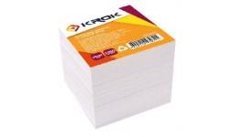 Блок паперу Krok KR-1311 для нотаток білий не клеєний 90х90х1000арк (1/36/1152)