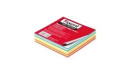 Блок паперу AXENT 8025 д/нотаток КОЛОР склеєний 90*90*20мм (1/144)