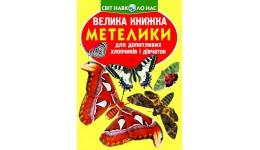 Велика книжка А3: Метелики (у) КБ