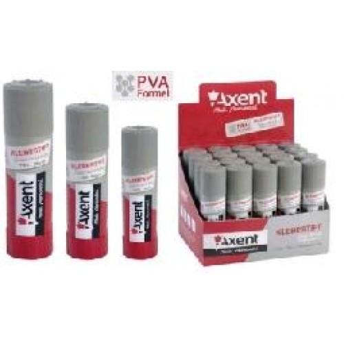 Клей-олівець AXENT 7101  8г PVA (30шт.)