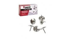 Кнопки AXENT 4201 нікельовані 50шт (20)