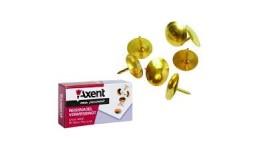 Кнопки AXENT 4202 оміднені 50шт (20)