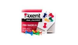 Кнопки AXENT 4203 цвяшки кольорові 30шт (20)
