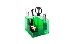 Набір настільний AXENT 2106-09 Cube салатовий в коробці (1)