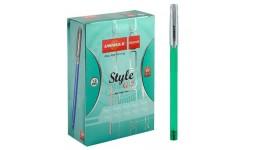 Ручка кулькова UNIMAX 103-06 зелена 1 0мм  Style G7-3  (50)