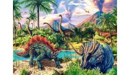 Пазл Касторленд  120 (13234) Динозаври  32*23 см