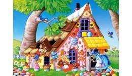 Пазл Касторленд  120 (13333) Пряниковий будиночок  32*23 см