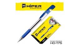 Ручка масляна HIPER Next 4км HO-175 синя 0 7мм (10/100)