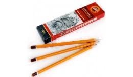 Олівці графіт. KOH-I-NOOR 1500 твердість (B) 12шт (12)