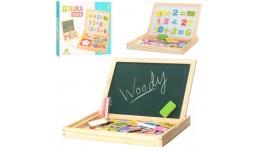 Дерев`яна іграшка Набір першокласника MD 0694 коробка 30-23-3см  (НУШ)