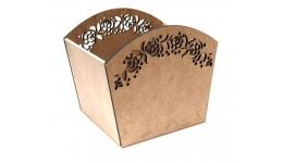 Кошик  Квітковий орнамент  (25х20х22см) ROSA TALENT