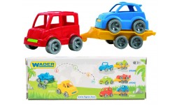 Набір авто  Kid cars Sport  3 ел. (автобус + гольф) в кор.26*9*8см  ТМ Wader