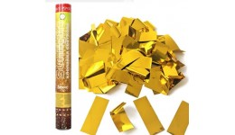 Хлопавка пневматична Sunlight - 60 см. SLNFG060 (полоски фольга золото  30 гр)