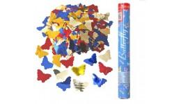 Хлопавка пневматична Butterfly - 60 см  BFNBF060 (метелики фольга  30 гр)