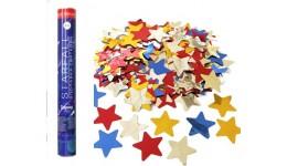 Хлопавка пневматична Starfall - 60 см. STNS0060 (зірки фольга  30гр)
