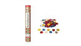 Хлопавка пневматична Kaleidoscope - 60 см (кружки фольга  30 гр)