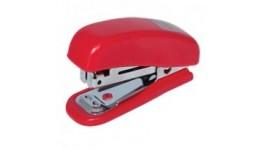 Степлер BUROMAX (скоба №10) 4125-05  10арк. пластик червоний (1/48)